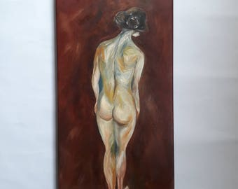 Woman - Oil Painting