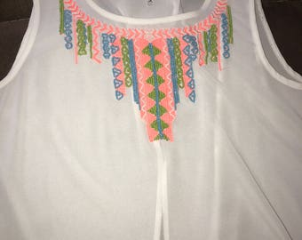 Open back spring top