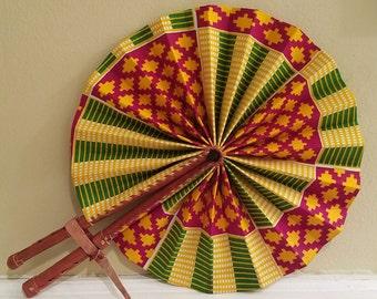 Ghanaian Fan (Authentic)