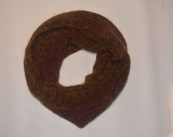 Crab Nebula Cowl - hand-knitted