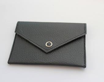 Handcrafted Leather Card Wallet, Card Holder, ID Wallet, Card Case, Credit Card holder,Business Card Case, Ticket Holder, Travel Card Holder