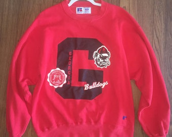 Georgia Bulldogs Vintage Sweatshirt