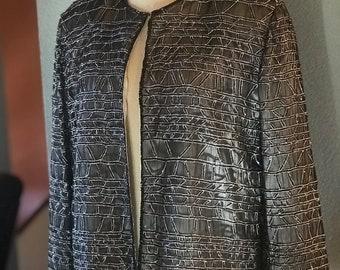 Vintage sequin top