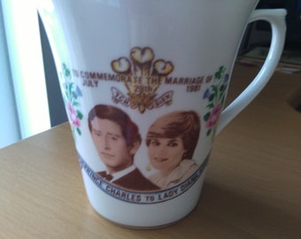 Tea Cup of Prince Charles & Diana Spencer.