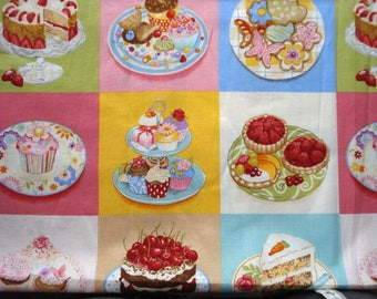 Bake Sale Cotton Quilting Fashion Fabric