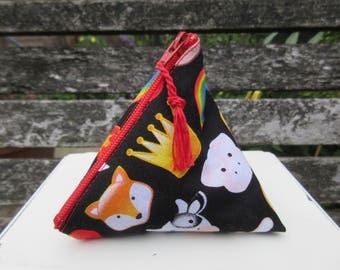 Large Emoticons Menstrual Cup Pouch