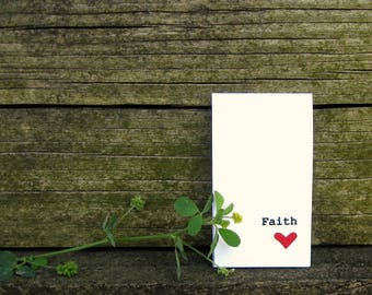 Faith Magnetic Bookmark - One Word Magnetic Bookmarks - Great Gift For Book Lovers - Handmade With Love