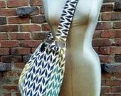 Bohemian Arrows Hobo Boho Style Slouchy Beach Bag Urban Style