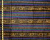 AFRICAN fabric traditional stripe KENTE fabric screen print