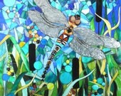 Dragonfly Card - Dragonfly Greetings Card - Dragonfly Notecard - Art  Card - Butterfly Card - Nature Art - Nature Card - Birthday Card