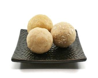 Decorative Balls of Soap | Soap Balls, Fresh Warm Scent, Rustic Farmhouse Style, Medium Size Balls | Set of Three