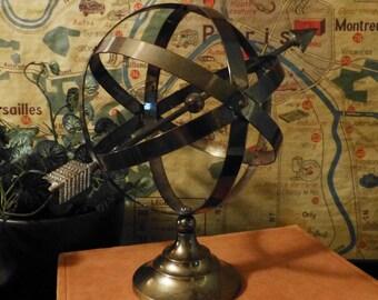 Brass Vintage Armillary Decorative Celestial Globe Sphere