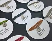 Kleine Charms / Sterling Silber gestempelt mit Texturen oder die Worte Ihrer Wahl / personalisierte Schmuck / Custom Schmuck / Worte