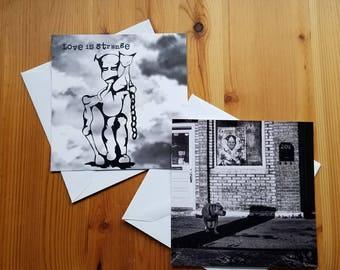 5x5 Postcards, Set of 4