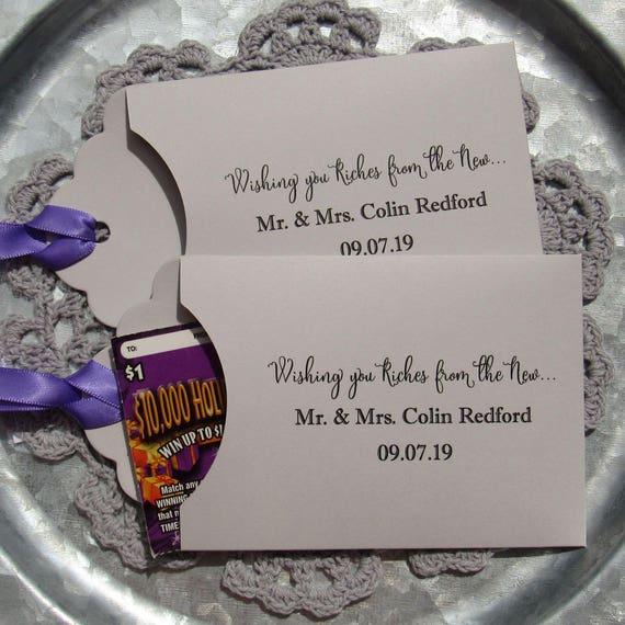 Wedding Lotto Favors | Wedding Table Favor | Unique Wedding Favor ...