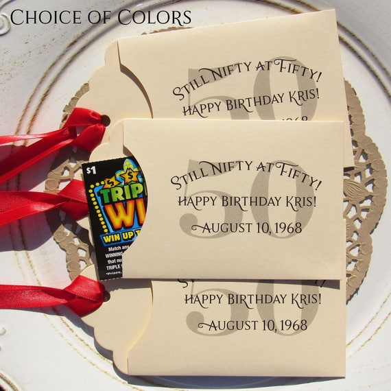 50th Anniversary Party Favor Ideas: 50th Birthday Favors 50th Party Favors Adult Party Favors
