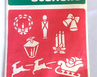 Vintage Christmas Stencils - National Tinsel Mfg Co