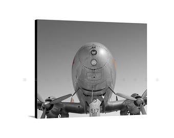 TWA Constellation, Airplane Photograph, Aviation Decor, Aircraft Art, Gift for Pilots, Aeronautical Art, Vintage Planes Art, Canvas Art