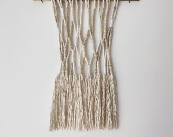 axon | wrapped fiber wall hanging