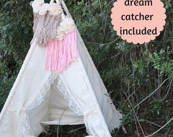 Dreamcatcher Teepee perfect for First Birthday