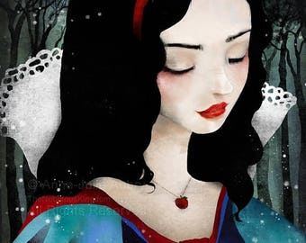 10% Off - Summer SALE Snow White - Deluxe Edition Print