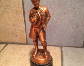 Boy Scout Award Trophy Figurine