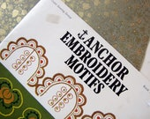 vintage embroidery book - Anchor brand motifs for all kinds of crafts projects