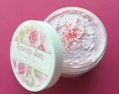 Rose Jam Bubble Scrub | Rose Hip | Soap | Scrub | Birthday | Wash | Pink | Unique | Gift for Her | Sugar | Bath | Beauty | Mom | Floral |