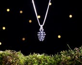 Sterling Silver Pine Cone - 3D Double Sided - (Charm, Necklace, or Earrings)