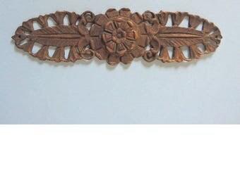 Vintage Solid Brass Decorative Hardware, Victorian Hardware, Eastlake Hardware
