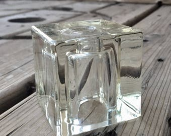 Vintage Lamp Parts, Glass Repurpose Supply Upcycle 204