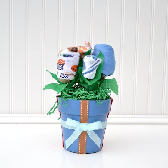 Baby Shower Gift Boy, Unique Baby Shower Gift, Infant Boy Clothes, Boy Flower Bouquet, Baby Gift Set Boy, Baby Shower Centerpiece