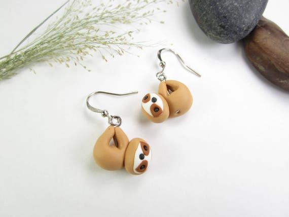 Sloth earrings