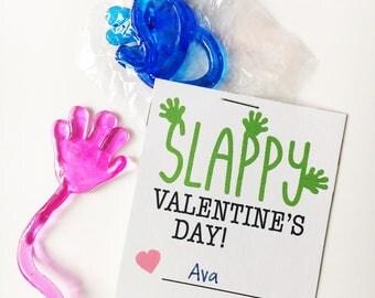 Sticky Hand Funny Printable Valentine