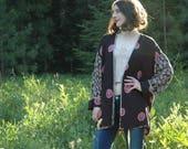 R E S E R V E D for Alpine Gypsy.... Kimono Cardigan / Boho Kimono / Kimono Jacket / Kimono Robe / Kimono Jacket For Women