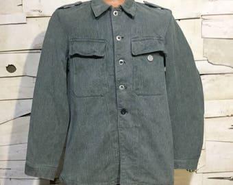 Vintage Swiss Military Pre-WW2 Field Jacket (os-m-11)