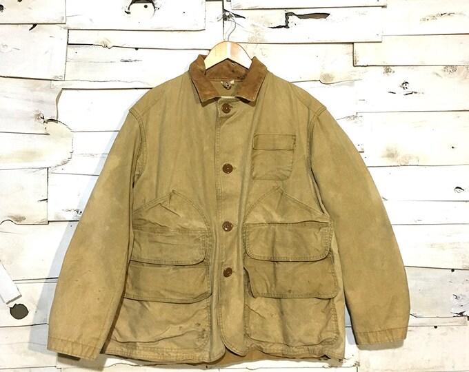 Vintage 1950's Hunting Jacket - Large