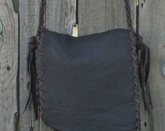 ON SALE Simple brown everyday bag , Simple brown handbag , Simple brown purse