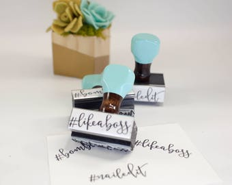 Teacher Stamps, Like A Boss Stamp, No Name Stamp, The Bomb Stamp, Rubber Stamp, Robins Egg Blue, Wooden Stamp, Back to School, Teacher