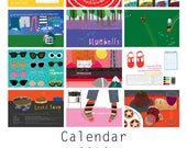 SALE! Calendar 2018 : A year of the little things