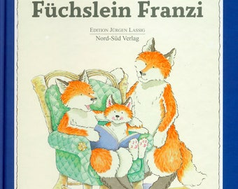 Little Fox children's book German version Fuchslein Franzi hardcover