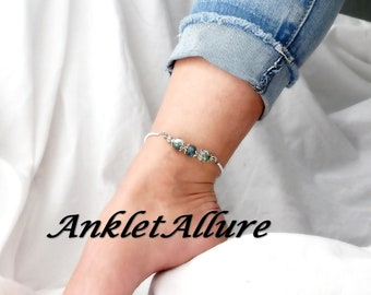 Anklet Beach Ankle Bracelet Stone Anklet Cruise Jewelry GUARANTEE Anklets For Women