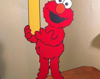 Sesame Street Elmo Decoration Large Size standee, Elmo First Birthday, Elmo Second Birthday
