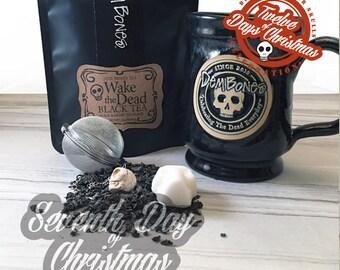 On the seventh day of Christmas - seven wonderous skull things // DemBones // edible mini sugar skull // secret santa // skull gifts