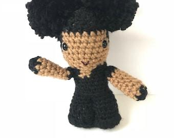 Lady Of Rage Inspired Crochet Doll
