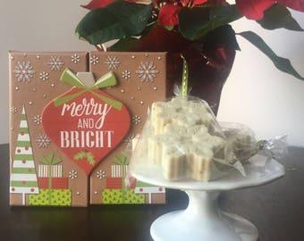 Goats Milk Soap - Set of 4 | Honey Lemon Goats Milk Soap | Soap Gift Set