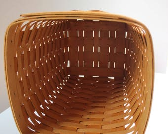 Longaberger, Waste Basket, Basket, Medium Waste Basket