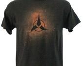 Klingon Bleach Dye Tee Shirt