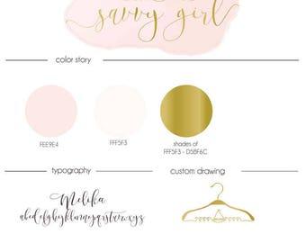custom logo design custom logos custom branding package
