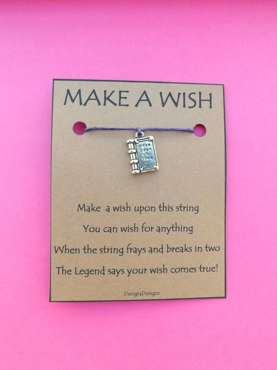 Once Upon a Time Fairytale Book Wish String